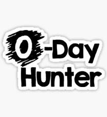 0-day Hunter Sticker