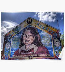 Bobby Sands - Belfast Poster