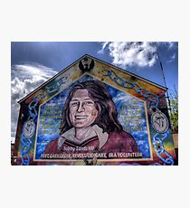 Bobby Sands - Belfast Photographic Print