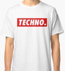 Techno. Classic T-Shirt