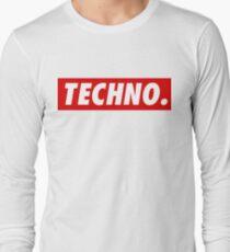 Techno. Long Sleeve T-Shirt