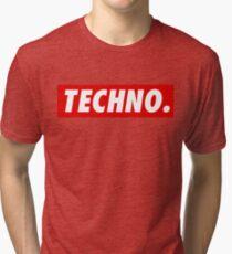 Techno. Tri-blend T-Shirt