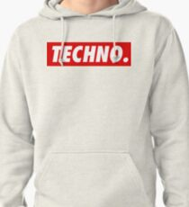 Techno. Pullover Hoodie