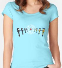 Big League Foosball | Community Women's Fitted Scoop T-Shirt