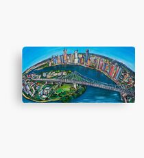 Love this City Canvas Print