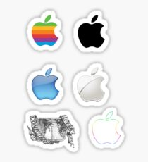 Ensemble d'autocollants pour le logo Apple Sticker