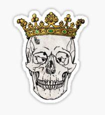 The Skull King Sticker