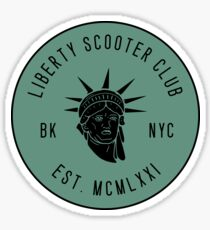Liberty Scooter Club Sticker