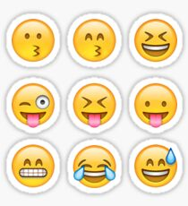 Smilies Emoji (Pack B) Sticker