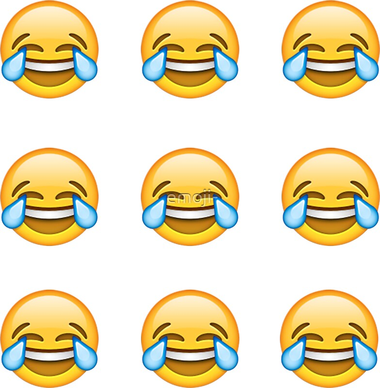 how to make a laughing face emoji