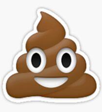 Emoji Poo Sticker