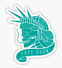 Free Doom Sticker