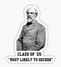 Robert E. Lee Sticker