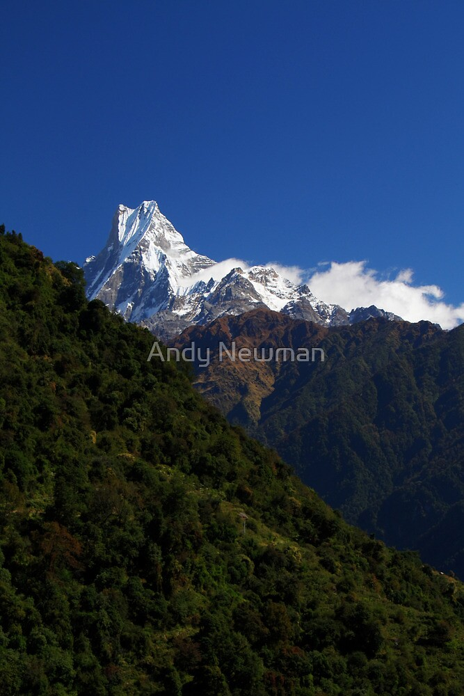 Machhapuchhre. by Andy Newman