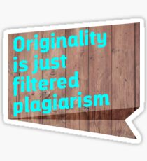 Original Content Sticker