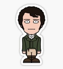 Mr Darcy (sticker) Sticker