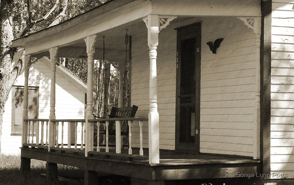 Passing time on the porch by Sonya Lynn Potts