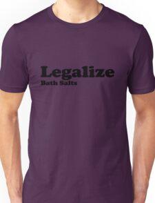 Legalize Bath Salts (Black Text) T-Shirt