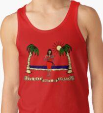 Let's Talk Dirty In Hawaiian Tank Top