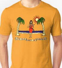 Let's Talk Dirty In Hawaiian Unisex T-Shirt