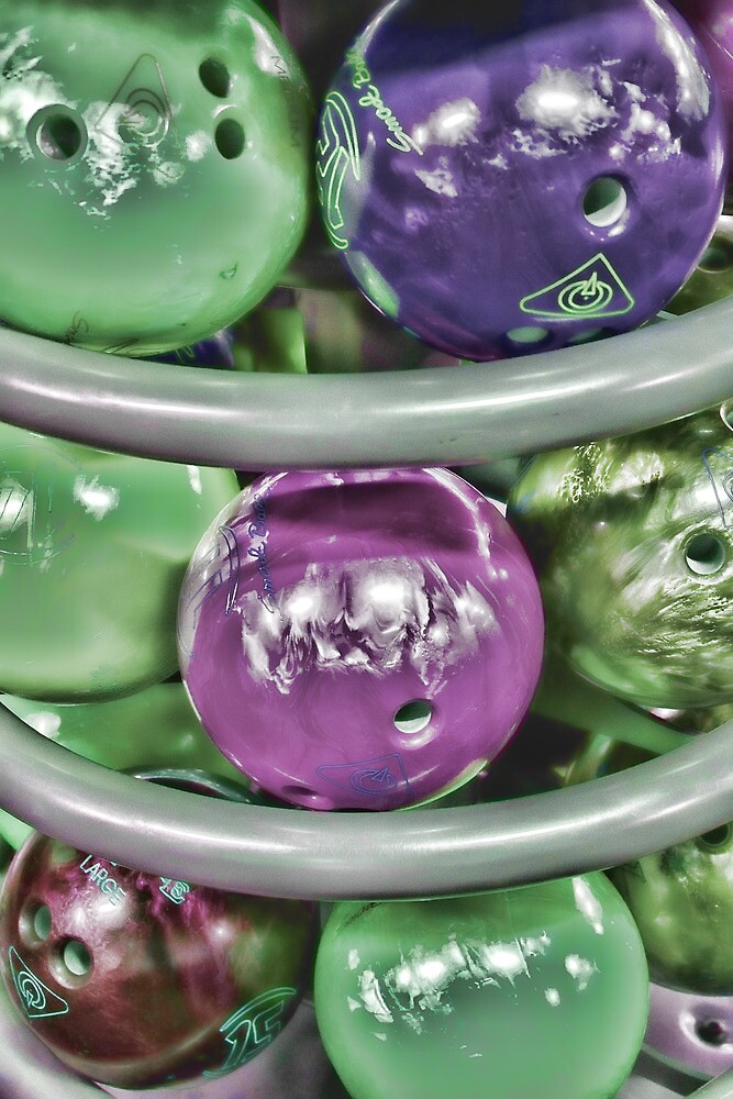 Electro Retro Bowling by Nikki Bond
