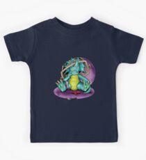 Lil' Dino vs Laundry basket Kids Tee