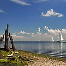 A view on Lake Grevelingen by Adri  Padmos