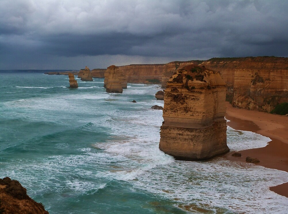 The Twelve Apostles by Sue Downey