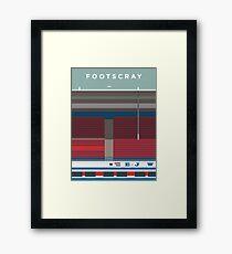 Footscray Framed Print