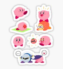 Kirby Sticker Sheet Sticker
