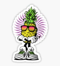 High Rolling Pineapple  Sticker