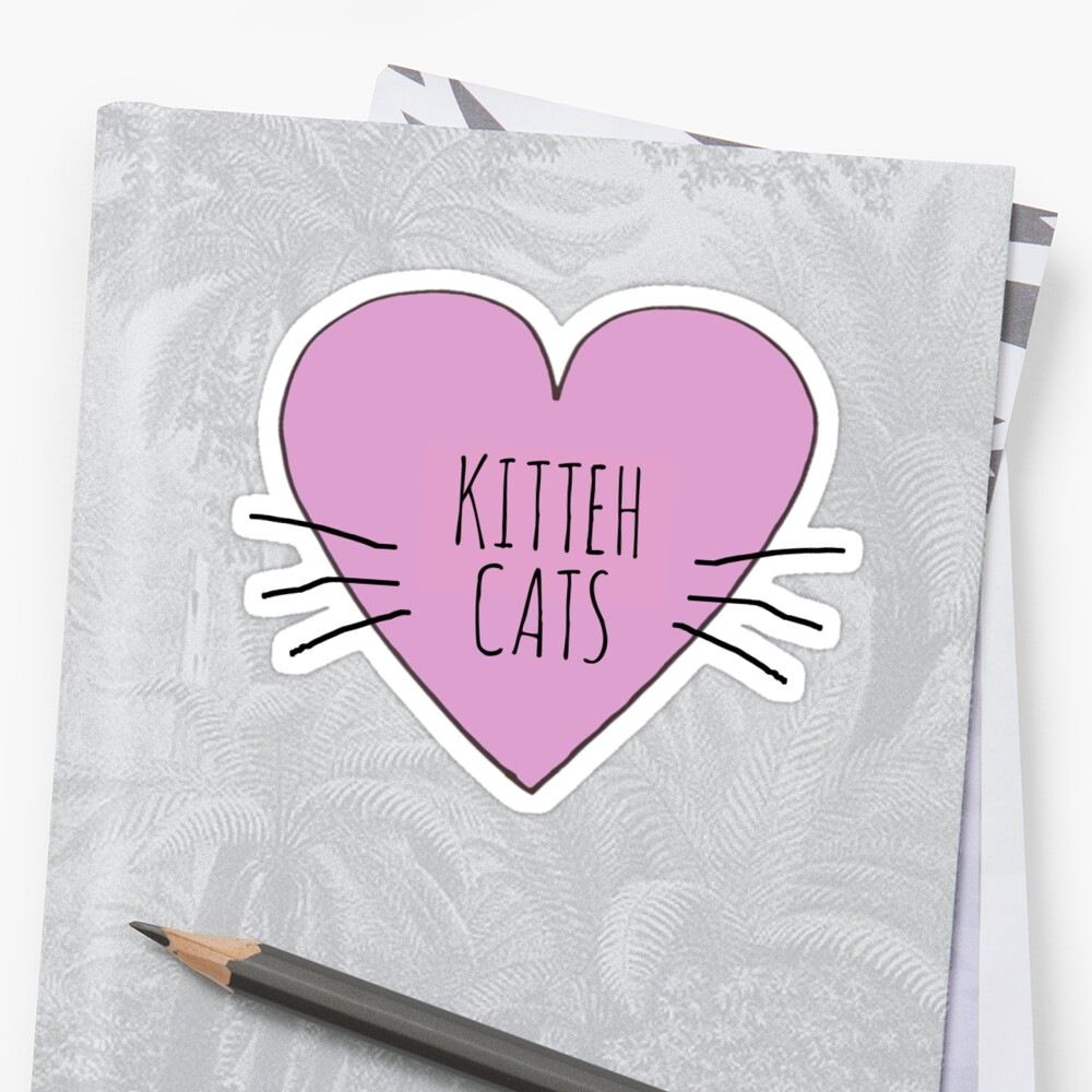I LOVE KITTEH CATS by Bundjum