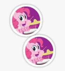 Rimshot Pinkie Sticker