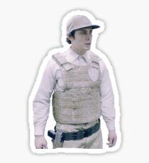 Bellamy Blake Guard Uniform smol Sticker