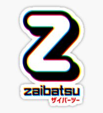 Zaibatsu CMYK  Sticker