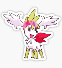 Shaymin with flower crown Sticker