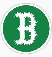 Boston - Green Circle Sticker