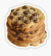 chocolate chip cookies Sticker