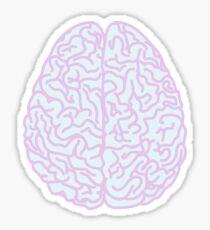 Pastel Brain Sticker