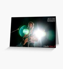 Matt Corby - The Winter Tour Greeting Card
