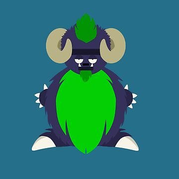 Meh the Monster by Thur