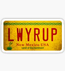 LWYRUP (Breaking Bad, Better Call Saul) Sticker