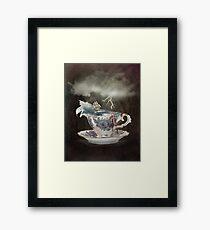 Storm in a Teacup Framed Print