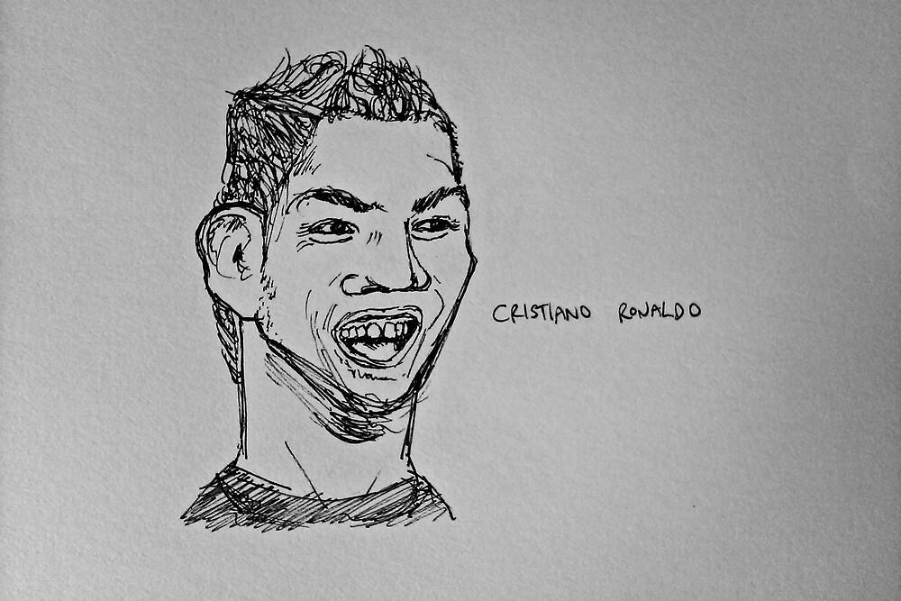 Cristiano Ronaldo by SteveSkinner
