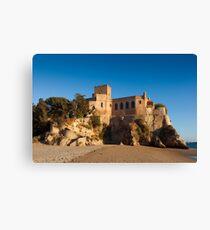 Castle of Ferragudo, Algarve, Portugal  Canvas Print