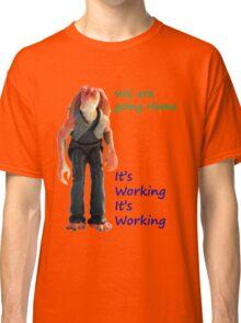 Jar Jar Star wars action figure Classic T-Shirt