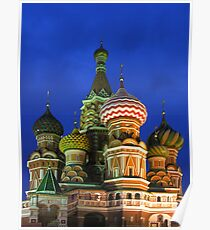 Saint Basil's Cathedral, Moscow Poster