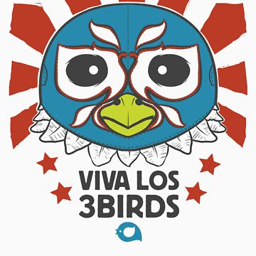3Birds Luchador by andyhunt