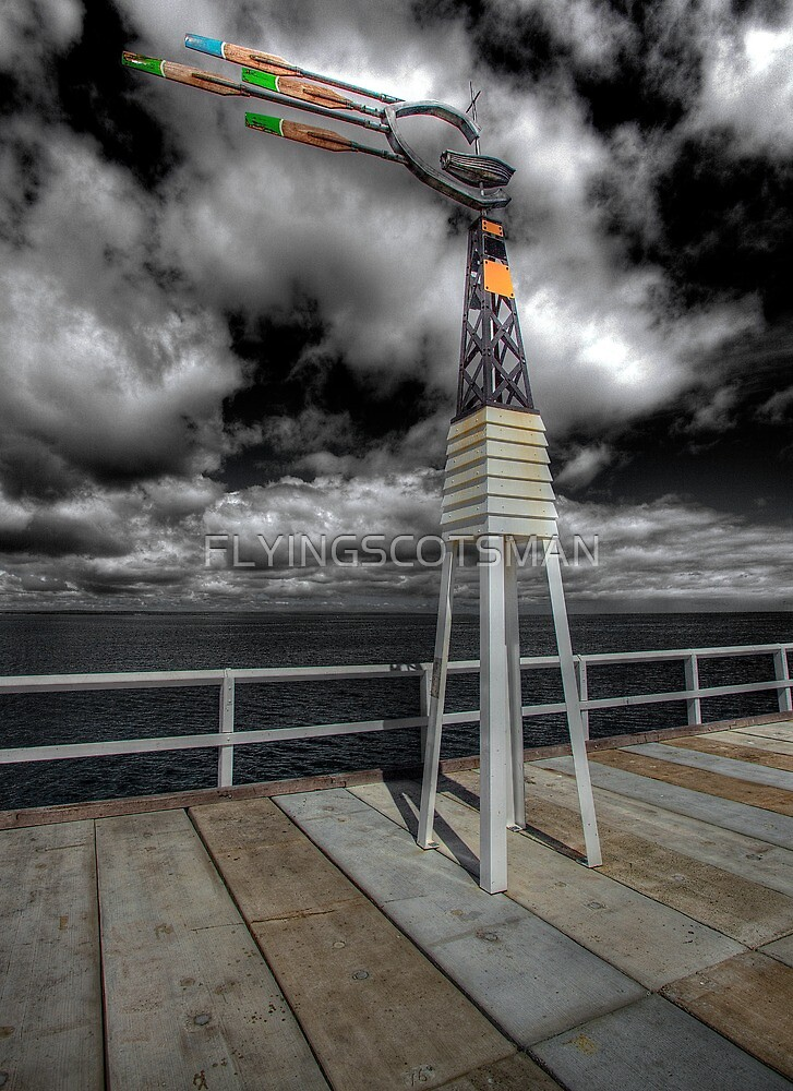 THE NEW JETTY by FLYINGSCOTSMAN