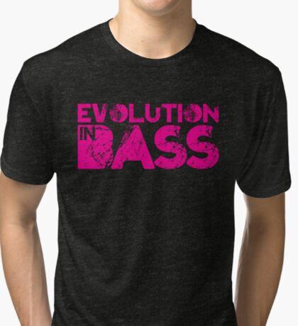 Evolution In Bass Tri-blend T-Shirt